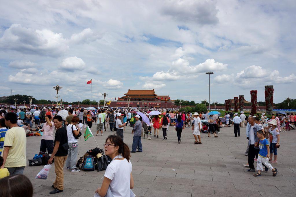 Plac Niebiańskiego Spokoju (Tiananmen)
