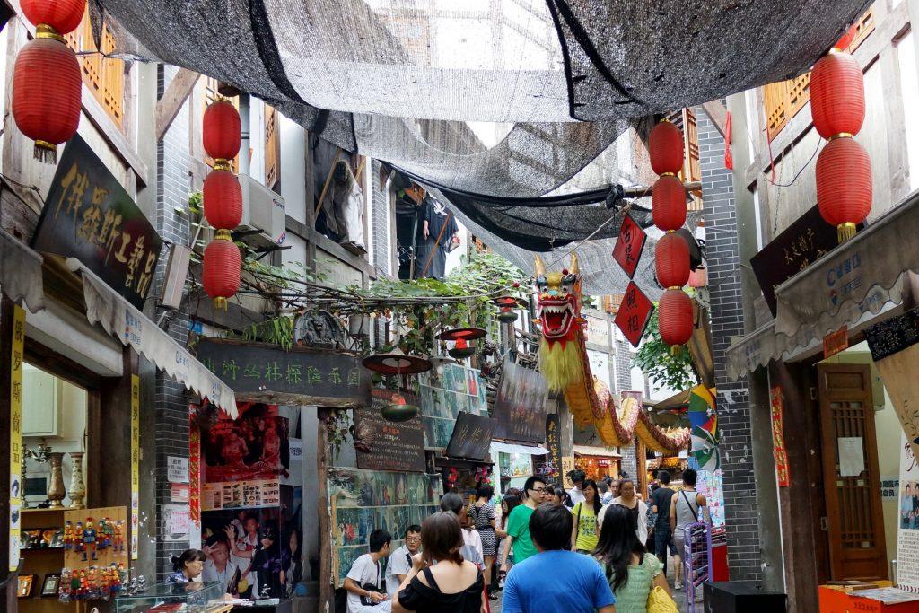 Chongqing Stare Miasto