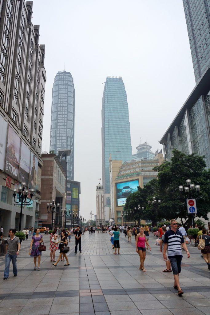 Współczesne Chongqing