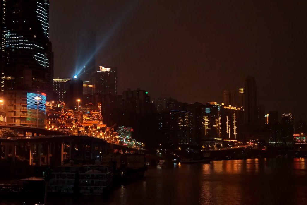 Chongqing Nocą