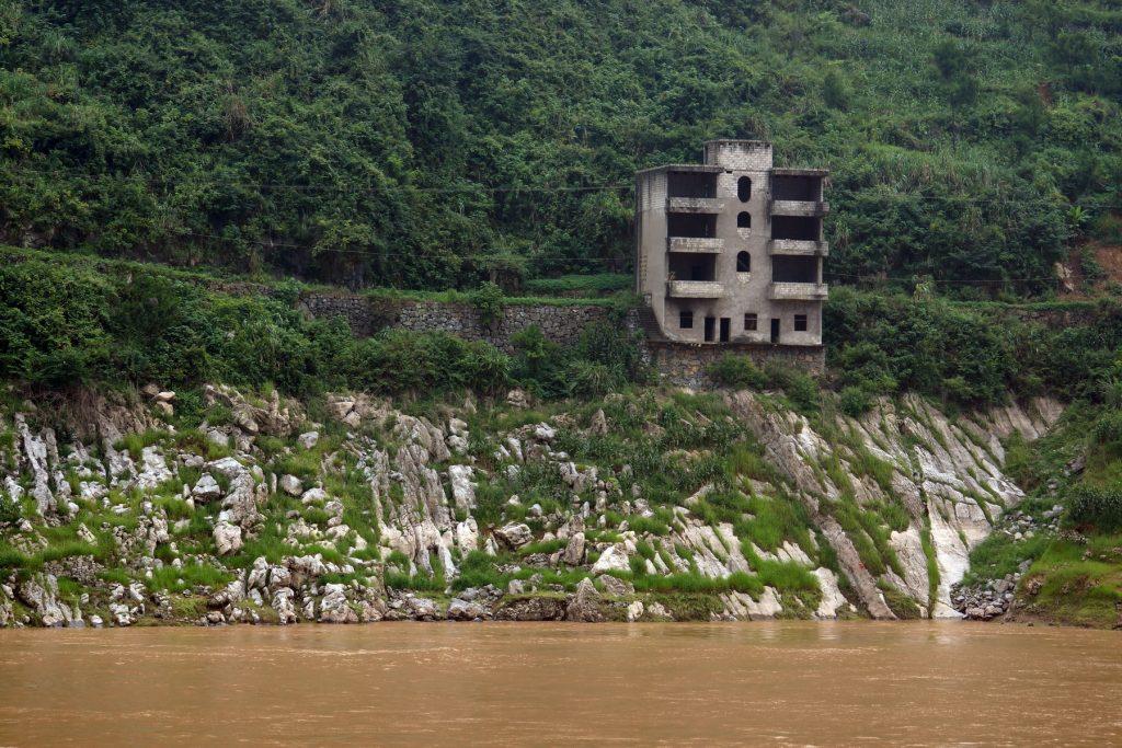 Przełom Xiling na Jangcy i opuszczone budowle