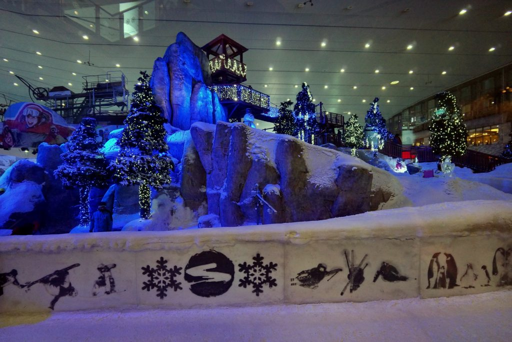 Galeria Handlowa Emirates - fragment Dubai Ski