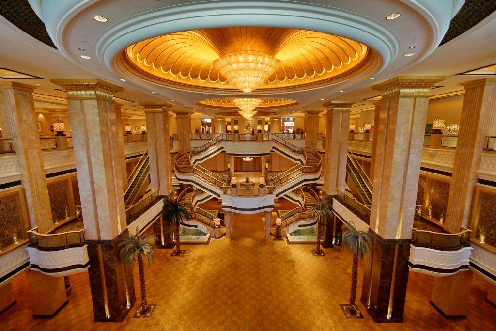 Hall hotelu Emirates Palace