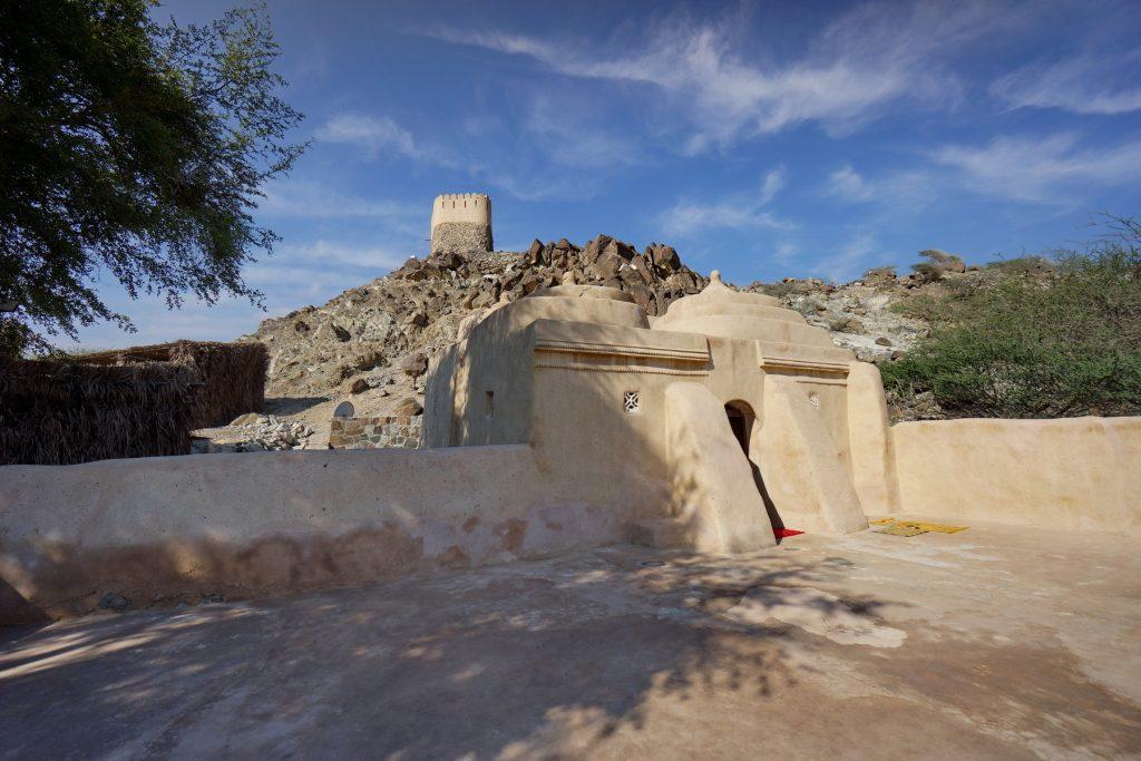 Meczet Al Badiyah - najstarszy w Emiratach z XV w