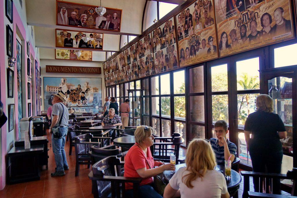 Bar hotelu Nacional de Cuba