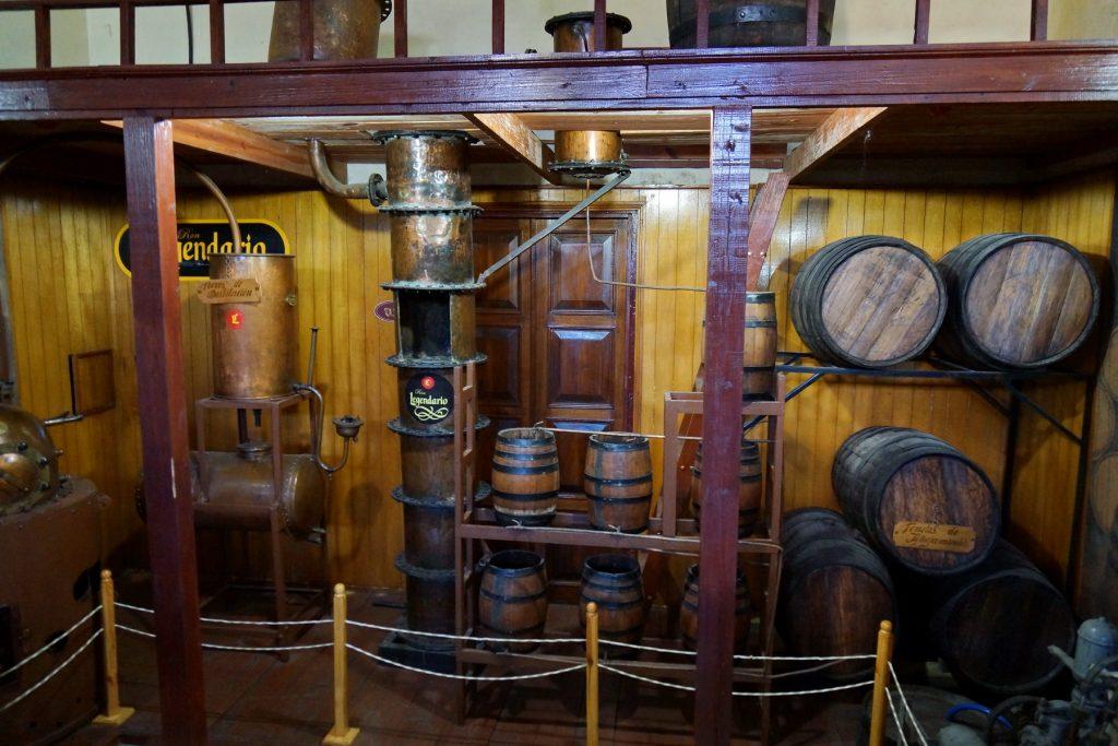 Tradycyjna manufakturka rumu