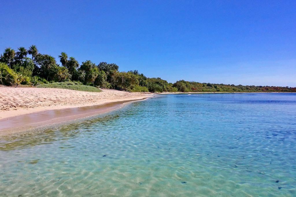 Plaża na Wyspie Młodości
