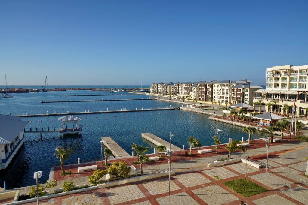 Pusta marina przy Melia Marina Varadero
