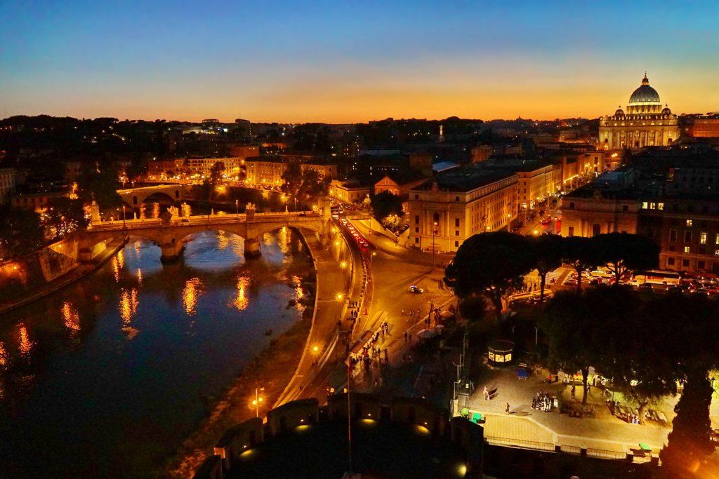 Zachód nad Rzymem