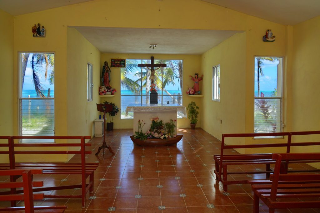 Kościółek w Punta Allen