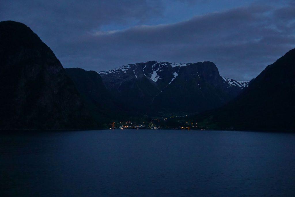 Sognefjorden Wieczorem