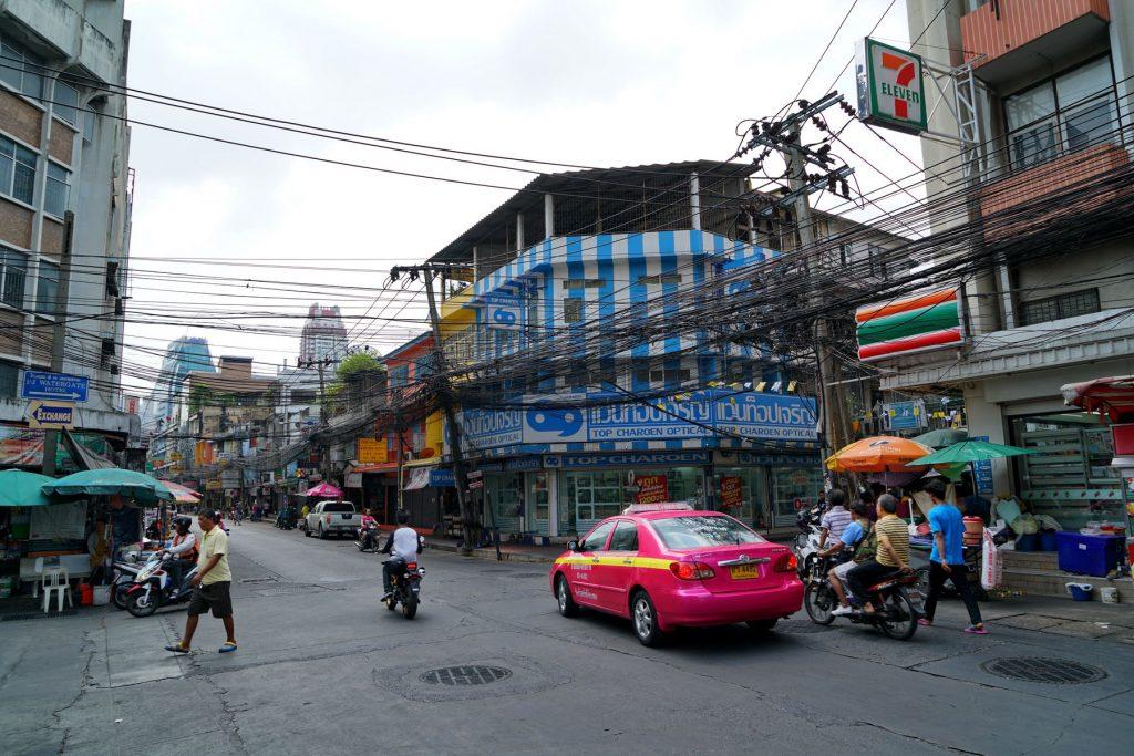 Uliczki Bangkoku
