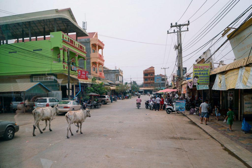 Ulice w Kambodży
