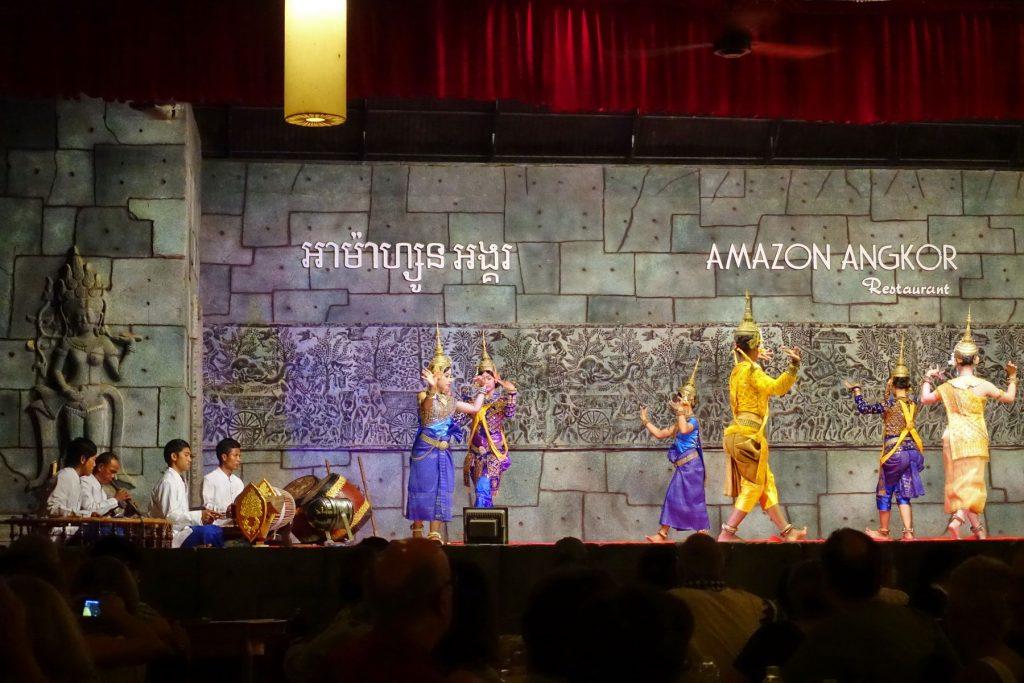 Tradycyjny taniec Khmerski