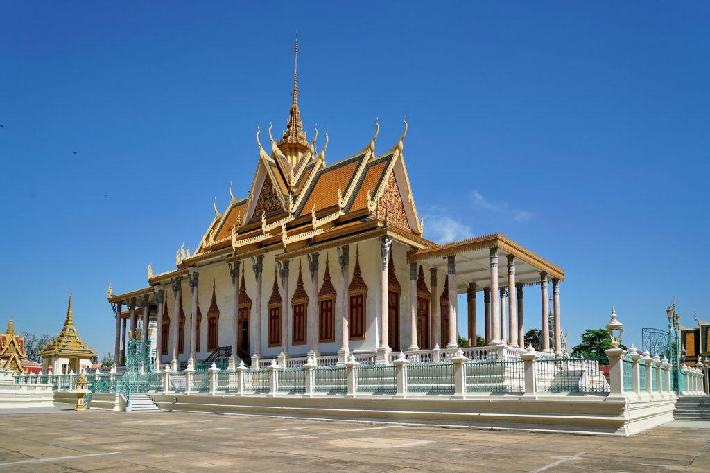Srebrna Pagoda w Pałacu Królewskim